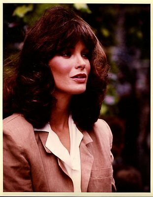 "Jaclyn Smith Rage Of Angels 8x10"" Studio Copy Photo #L9753"