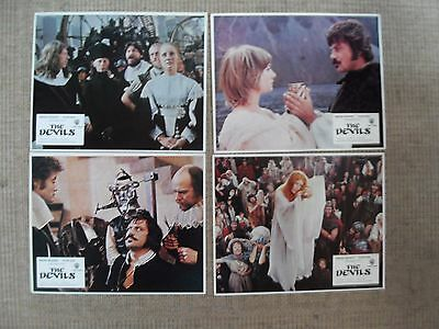 The Devils Ken Russell set of 4 original UK Lobby Cards FOH Excellent