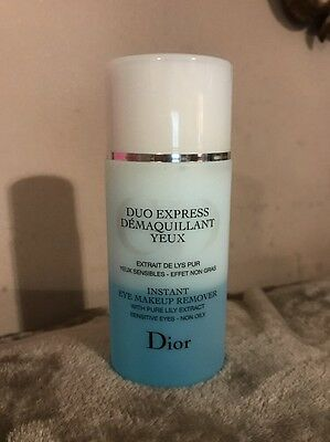 Christian Dior New Instant Eye Makeup Remover With Pure Lily Extract - 125ml