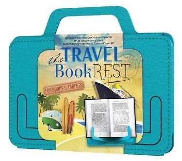 The Travel Book Rest - For Books & Tablets - Beachy Blue