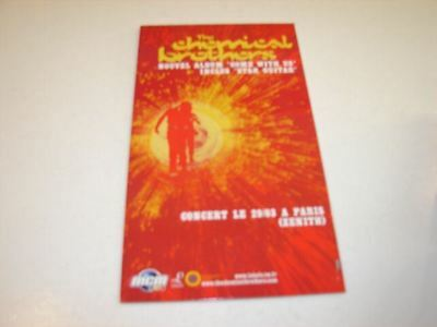 Chemical Brothers Come !!!french Only Cardboard Display