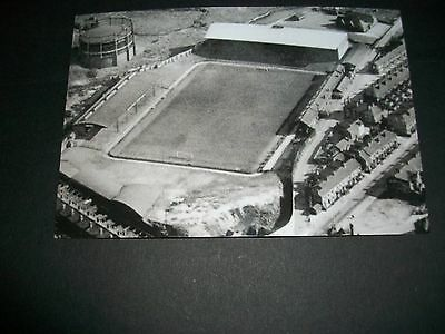 "STOKE CITY FOOTBALL GROUND VICTORIA  Aerial view 1950s? Photo 6""x4"" REPRINT"