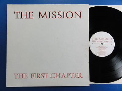 THE MISSION  THE FIRST CHAPTER Phonogram 86 A1B1 LP EX-/EX-