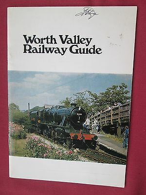 Worth Valley Railway Guide 1978 Fourth Edition pb