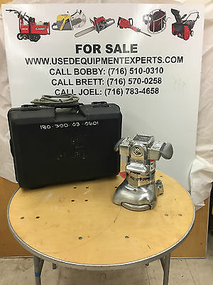 Used Clarke Floor Sander Edger Super 7R 1 HP Floor Refinsher W/Case  and Cord