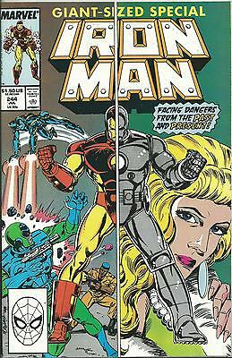 Iron Man #244 (Double-Sized) (Marvel) Nm-