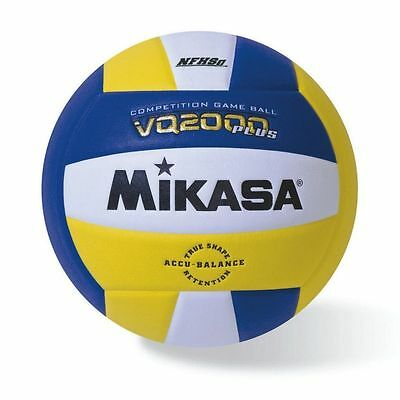 Mikasa Volleyball Indoor Competition Game Ball NFHS Approved Royal Gold White