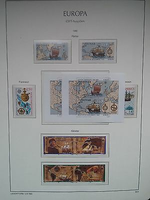 H322. Europa. Lots Timbres Neufs 1992