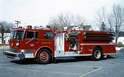 1971 Young Fire Truck Elsmere New York Factory Photo ca6293
