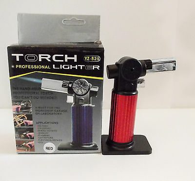 Butane Gas Torch Jet Lighter Refillable Soldering Survival Camping crafts tool