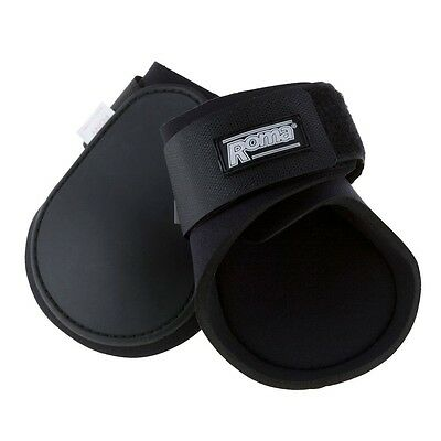 Roma Fetlock / Ankle / Hind Boots - HORSE - Black