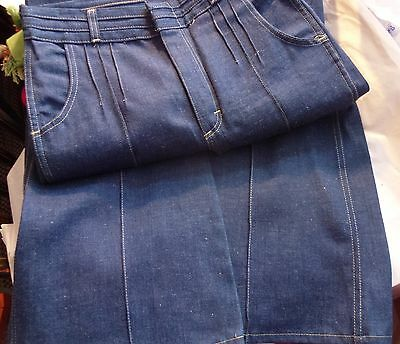 """Vintage Deadstock 1970's 1980's Womens Jeans by """"CHEAP JEANS"""", size 30L"""