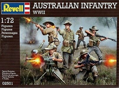 Soldatini 1:72 Revell 2501 Wwii Australian Infantry Nuovo