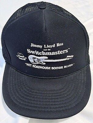 """Jimmy Lloyd Rea and the Switchmasters® """"Hot Roadhouse Boogie Blues"""" Ball Cap Hat"""