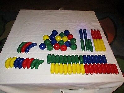 Mag Neatos Magneatos Better Builders 70+ pieces Building Pieces Magnetic