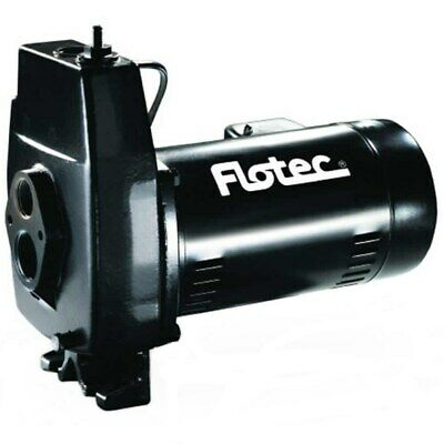 Flotec FP4212 - 5.9 GPM 1/2 HP Cast Iron Convertible Jet Pump