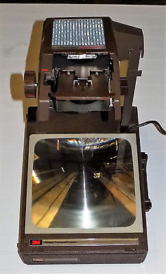 3M Model 6200 Agb Overhead Projector Working - Portable Suitcase Style
