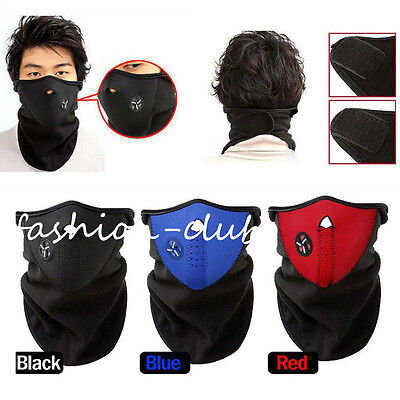 Unisex Anti-dust Half Face Mouth Mask Sports Motorcycle Skiing Warmer Respirator