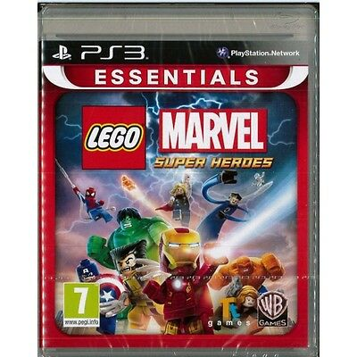 Lego Marvel Super Heroes Game PS3 Brand New