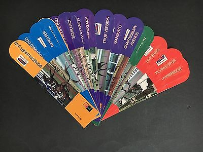 Horse Racing Bookmarks Lot Of 20 All Different Horses