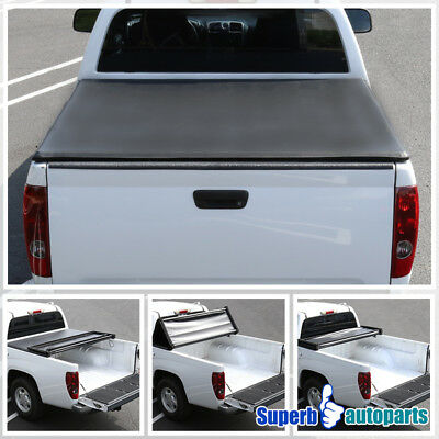 TYGER T3 Tri-Fold Tonneau Cover For 2007-2013 Toyota Tundra 5.5ft//66in Bed