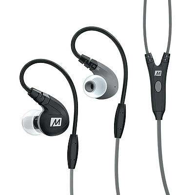 MEE Audio M7P Sports In Ear Earphone Replaceable Cable Universal Control New uk