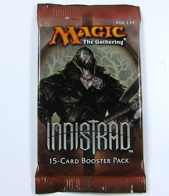4 x Innistrad Booster Pack englisch sealed /OVP Magic the Gathering