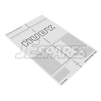 Hudy Plastic Set-Up Board Decal for 1/10 DY108211