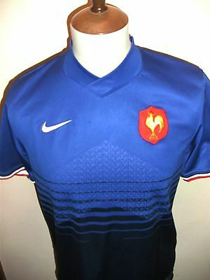 France Rugby Union Shirt Shirt Size Small