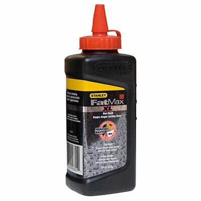 Stanley FatMax XL Square Bottle Chalk Refill Red