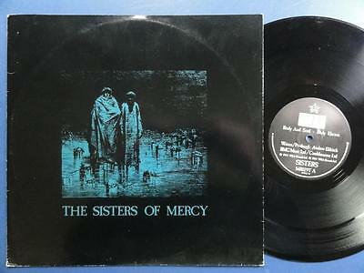 "SISTERS OF MERCY  BODY & SOUL MR 84 UK p/s 12"" 45"