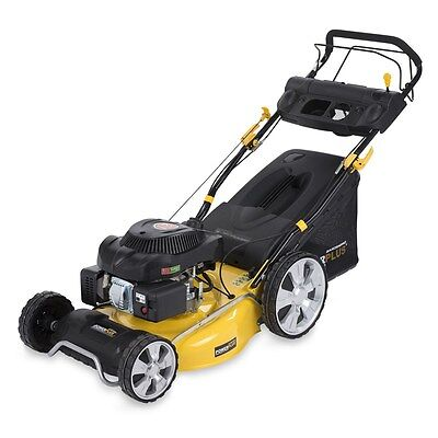Ex demo POWXG60225 Lawn Mower 196cc 510mm SELF-TRACTION WITH 5 SPEED