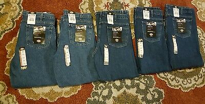 Lot Bundle 5 Pairs Mens Dickies Regular Fit Work Jeans Sz 36X30 New With Tags