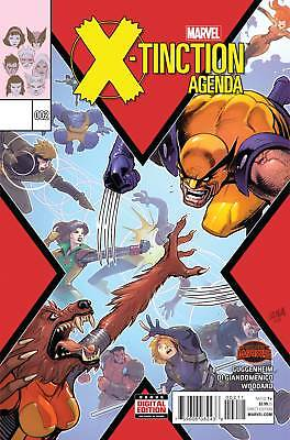 X-TINCTION AGENDA #2 (Marvel Secret Wars 2015 1st Print) COMIC