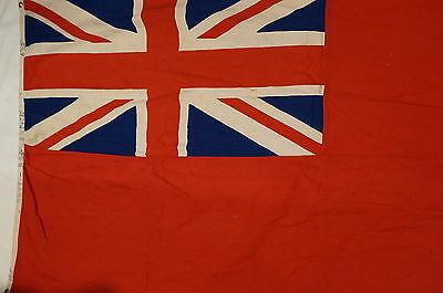 WW2 British Royal Navy RN Red Ensign Vintage Flag 1939-1945 6' x 2.5'