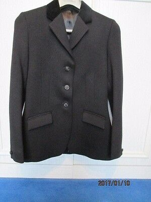 """Mears Pytchley Wool Show Hunt Jacket Size 33"""""""