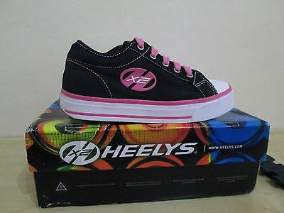 Heelys Jazzy shoes size UK3 black-pink colour