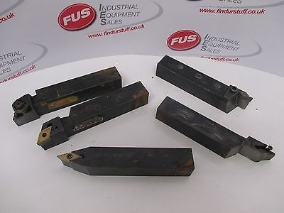 5 x Tipped Turning Tools - Used Condition