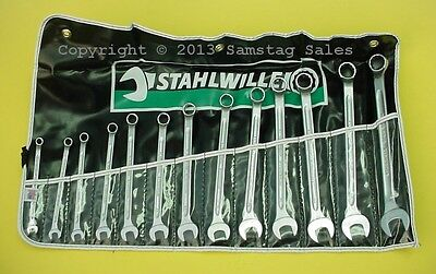 Samstag Sales Stahlwille SF14/13 Metric Combination Wrench Set 7-19mm. SALE !