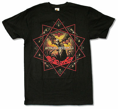 Avenged Sevenfold- NEW Decagram LIGHTWEIGHT T Shirt-2XLarge FREE SHIP TO U.S.!