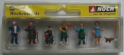 NOCH 15470 Market People 00/H0 Model Railway Figures