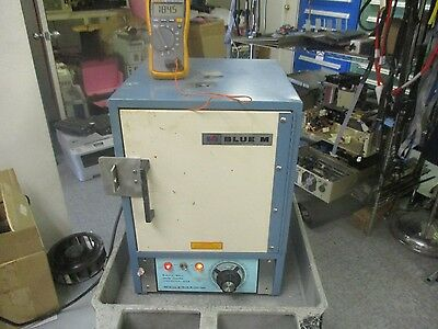 Blue M: SW-11TA  Gravity Fed Convection Oven.  Tested to Guardband of 186 ° C
