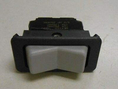33218 Braun Wheelchair Lift Gray Momentary Rocker Switch 3 Terminal
