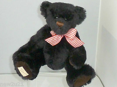 DEANS BEAR RAG BOOK BLACK  HOGARTH LIMITED EDITION No.3459 - 2007 JOINTED