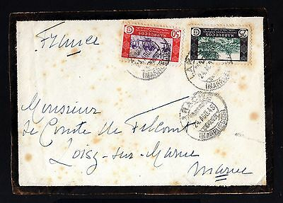 14806-Spanish Morocco-Spain Colonies-Mourning Front Cover Larache.1948.marruecos