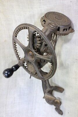 Reading Hardware Co vintage 1872 Apple Peeler corer old primitive cast iron