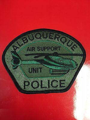 Albuquerque New Mexico Air Support Unit Police  Shoulder Patch
