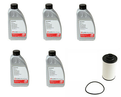 OEM FEBI VW DSG Automatic ATF Transmission Dual Clutch Fluid Filter Service Kit