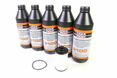 LIQUI MOLY DSG Automatic ATF Transmission Dual Clutch Fluid Filter Service Kit