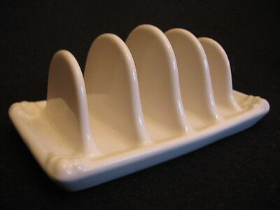 WINTAGE WADE POTTERY FOUR SLICE TOASTRACK c.1950's NM